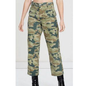 We The Free Remy Camo High Rise Pants NWT